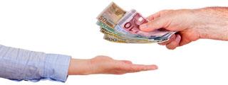 Bancos que anticipan la nómina