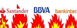 BBVA y Bankinter presentan buenas alternativas a la Cuenta 1 2 3 del Santander