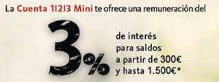 La Cuenta 123 Mini del Santander regala 183 iPads Mini