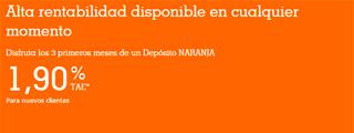 Cuenta Naranja de ING DIRECT