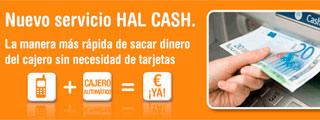 Hal Cash, envía y recibe dinero en efectivo con tu móvil