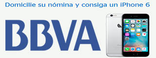 BBVA regala un iPhone 6 por domiciliar la nómina