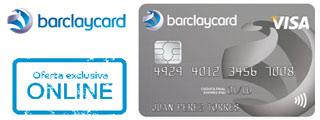 Nueva tarjeta de crédito Barclaycard VISA