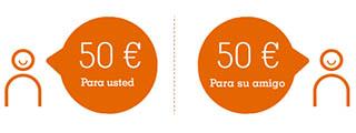 Plan Amigo Broker Naranja de ING: llévate 50 €