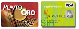 Tarjeta SIN del Sabadell vs Tarjeta Punto Oro del Banco Popular
