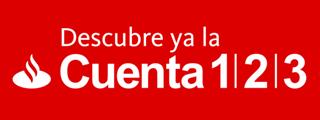 Análisis cuenta 1,2,3 del Banco Santander
