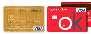 Tarjeta de crédito ING Direct vs Tarjeta de crédito Openbank
