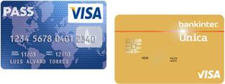 Tarjeta Única Oro Bankinter vs Tarjeta Pass Visa de Carrefour