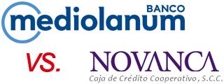 Visa Classic Mediolanum vs Visa Classic Novanca